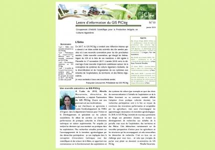 Le GIS publie sa dixième lettre d'information