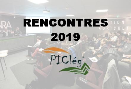 Les 12es Rencontres du GIS PIClég se dérouleront à Lyon les 21 et 22 Novembre 2019