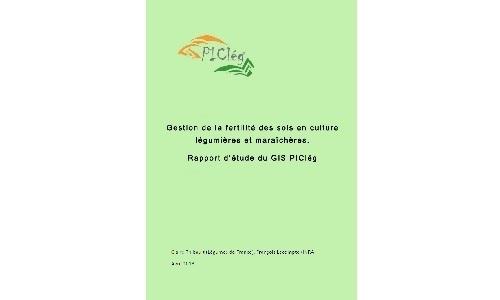 Parution de l'étude « Gestion de la fertilité des sols en cultures légumières et maraîchères »