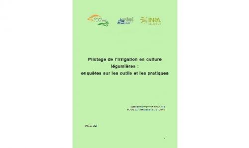 Pilotage de l'irrigation en cultures légumières